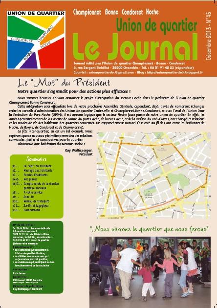 JOURNAL 45 DEC 2013 - UQ CHAMPIONNET