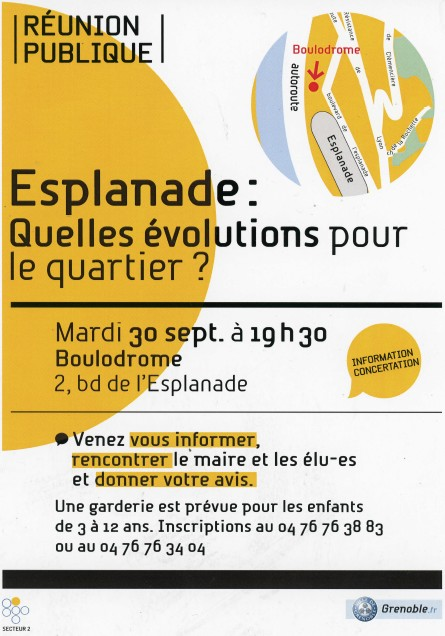 reunion publique -esplanade - 30 sept2014