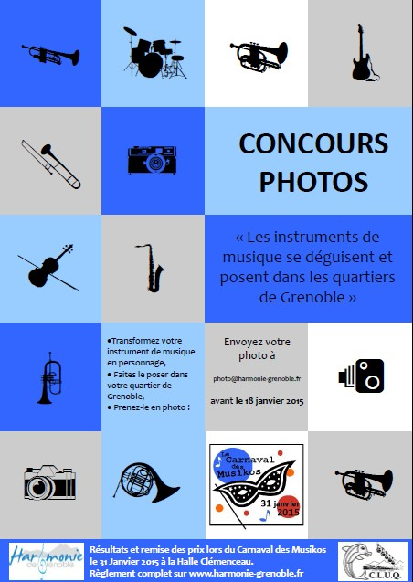 affiche concours photo-carnaval