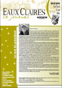journal dec 14 - UQ eaux claires