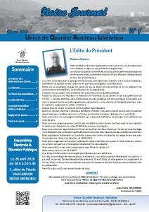 page 1 - UQRL -journal N°1
