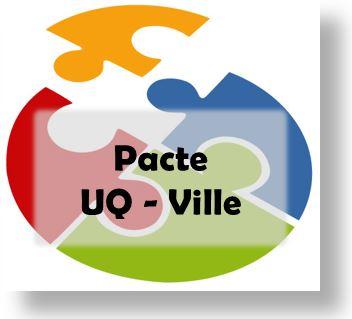 Bouton Pacte UQ Ville