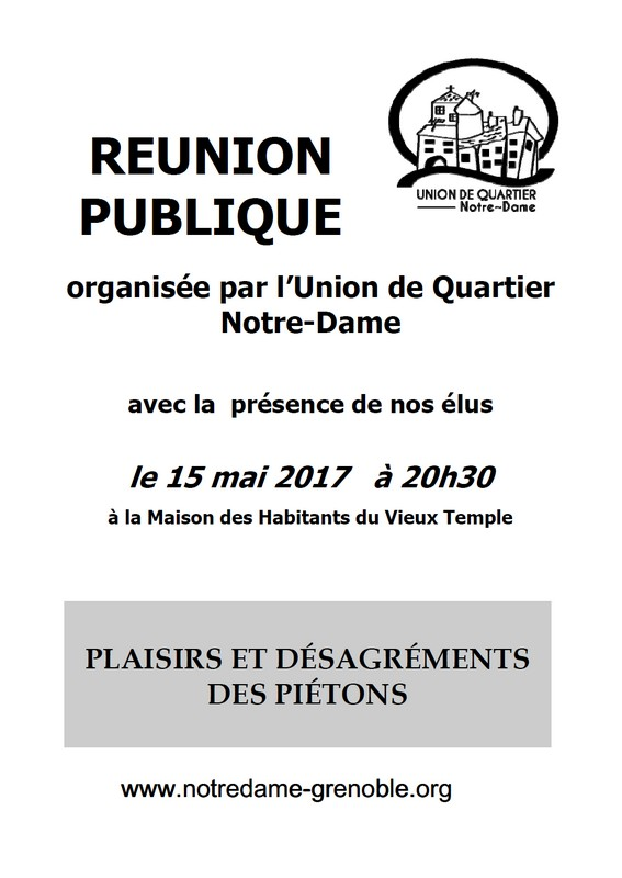 réunion publique UQ Notre Dame