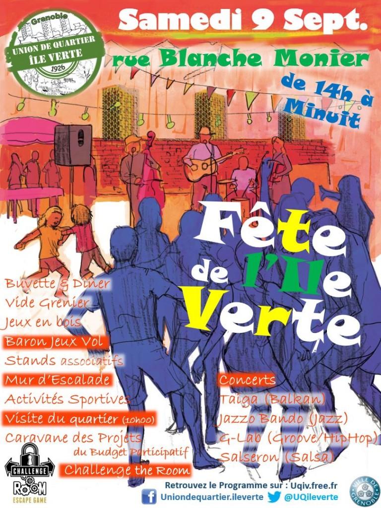Affiche Fête de l'Île Verte 2017 - v3