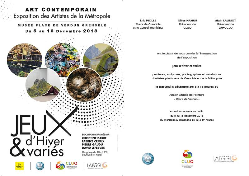 Invitation Expo jeux d hivers et varies