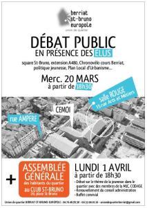 Debats public-UQ St Bruno