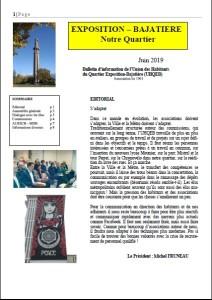 page 1 journal juin 2019 - UQEB